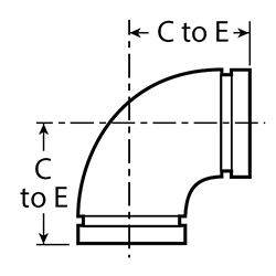 Elbow dimensions