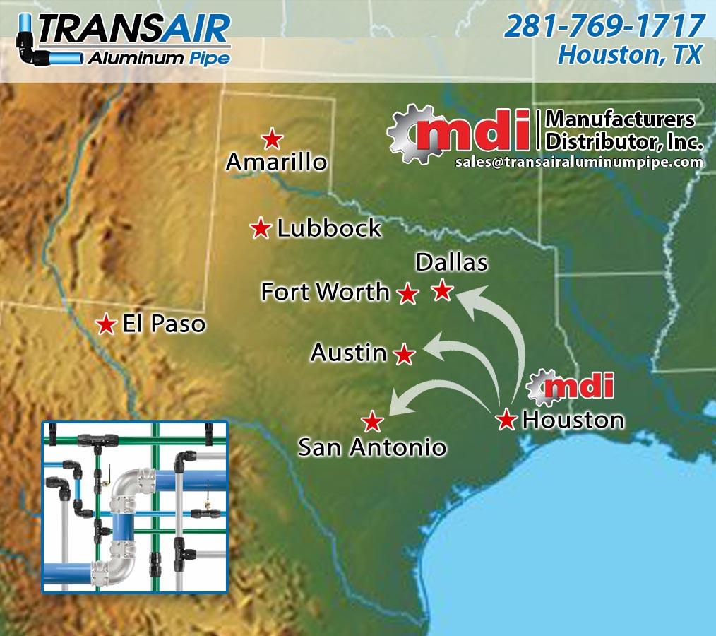 Texas Transair Pipe   Texas Transair Distributor