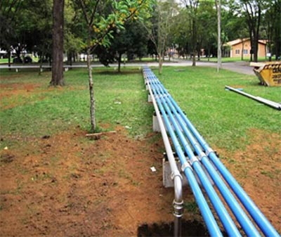 Transair Pipe Qualicoat